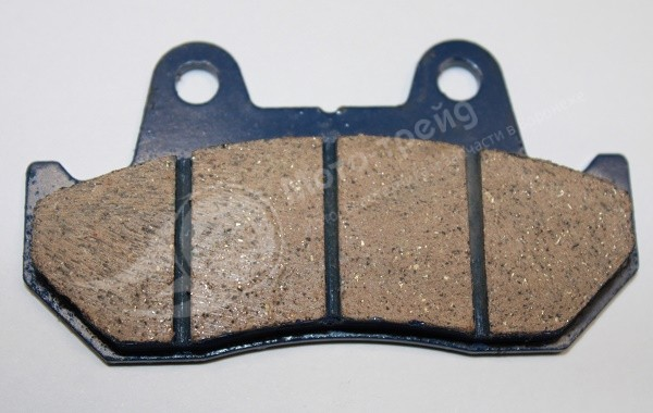 Колодки торм.  диск. (50.150куб.) Скутер