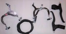 Тормоза пер-зад + рычаги крабы  вело